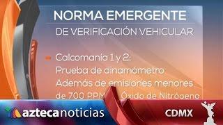 Dan a conocer nueva norma emergente de verificación vehicular
