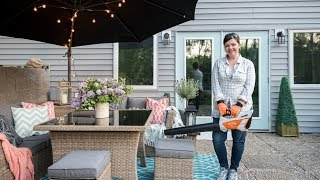 Clean & Decorate With Me: Summer Patio Refresh with STIHL