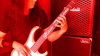 Cannibal Corpse - 'Bloodstained cement' bass play through