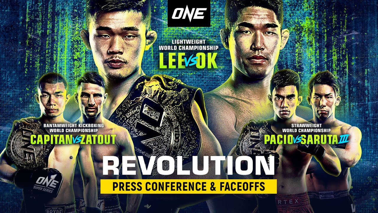 Download ONE: REVOLUTION Press Conference & Faceoffs