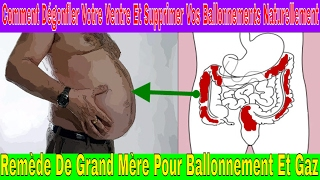 Voici comment dégonfler votre ventre et supprimer vos ballonnements naturellement