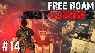 Just Cause 2 Free Roam Gameplay #14 - Base Jump Fail (Just Cause 3 Hype)
