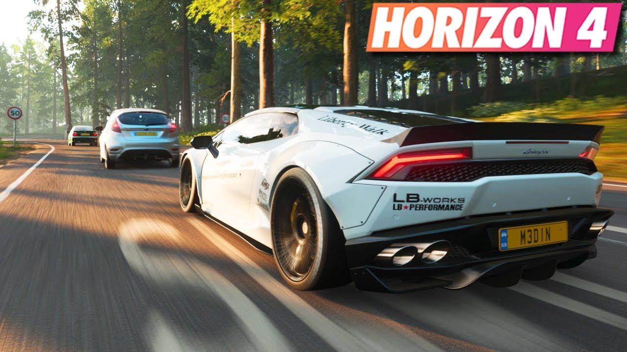 Forza Horizon 4 Lamborghini Huracan Extreme Tuning Gameplay