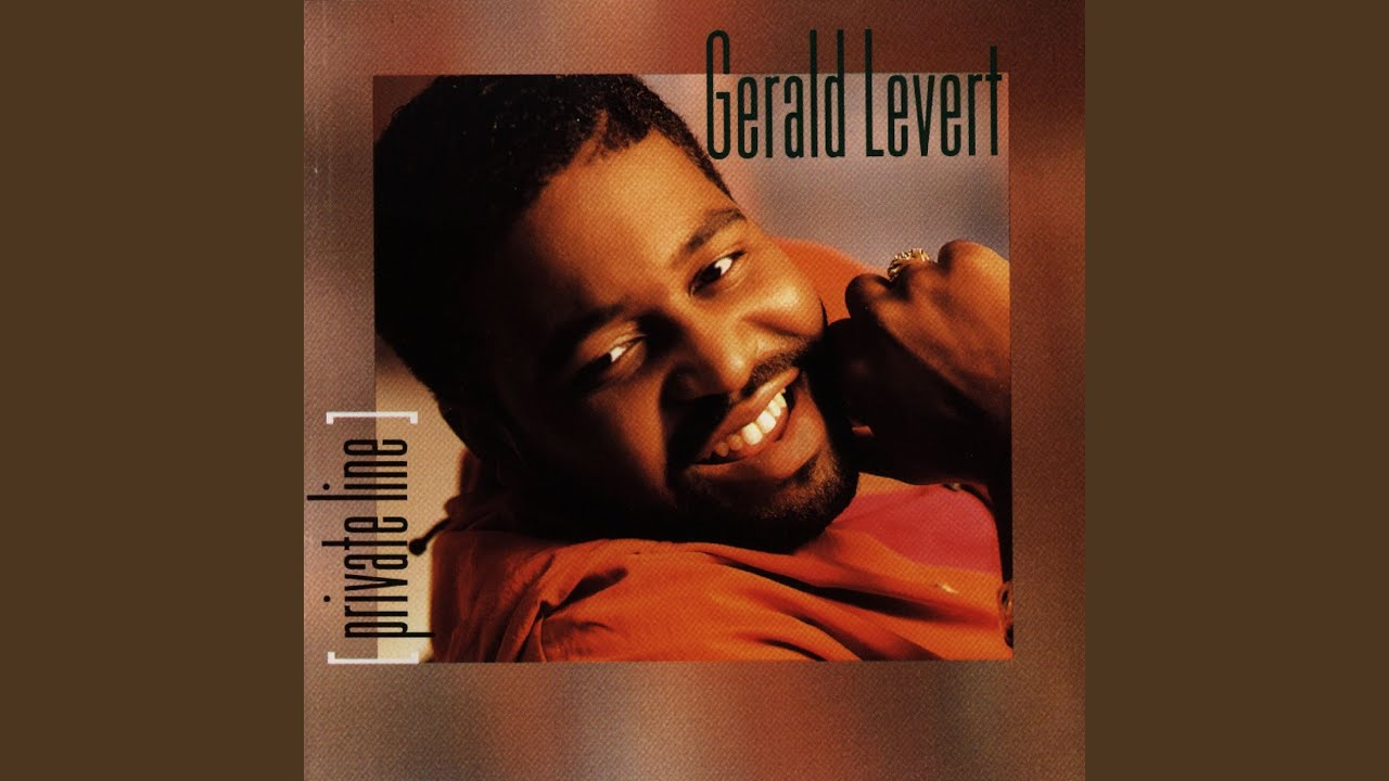 Gerald Levert Songs inside private line - youtube