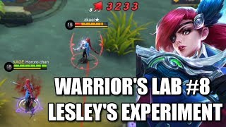 WARRIOR'S LAB #8 LESLEY'S EXPERIMENT AND HIGHEST DAMAGE