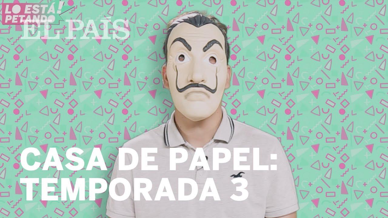 Los actores de LA CASA DE PAPEL te cuentan TODO sobre la NUEVA TEMPORADA | Lo Está Petando