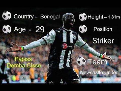 Papiss Demba Cissé | All goals and assists in the season 2014/15 | Newcastle United