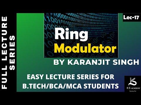 Ring Modulator (Generation  Of DSB-SC)   Generation Of DSB-SC   B Tech  Communication System  Lect17