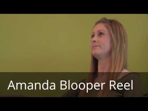 Amanda Bloopers on Video Game Interview