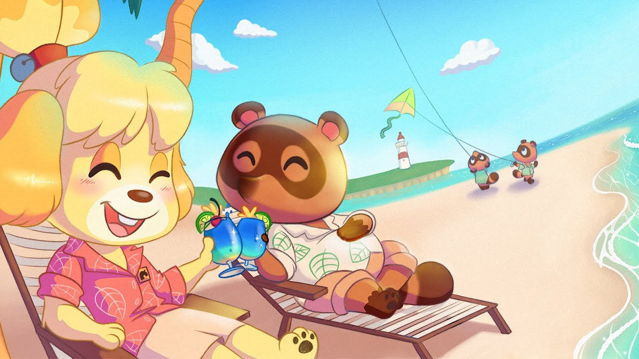 I M Going On Virtual Vacation 4k Animal Crossing New Horizons