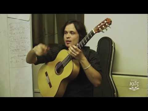 Master Class con el Guitarrista Diego García, para Desnudos de Etiquetas