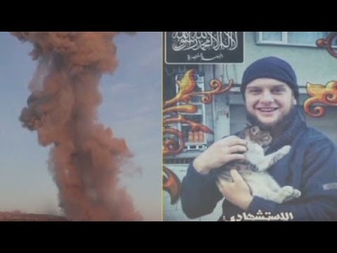 Militants claim Syrian suicide bomber was American