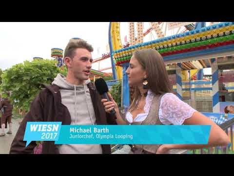 Wiesn-Fahrgeschäfte: Olympia Looping auf dem Oktoberfest 2017