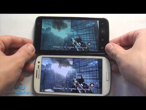 Samsung Galaxy S 3 vs Highscreen Explosion: сравнение производительности