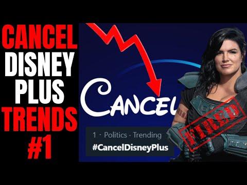 Cancel Disney Plus Trends After Lucasfilm FIRES Gina Carano | Major Star Wars Backlash
