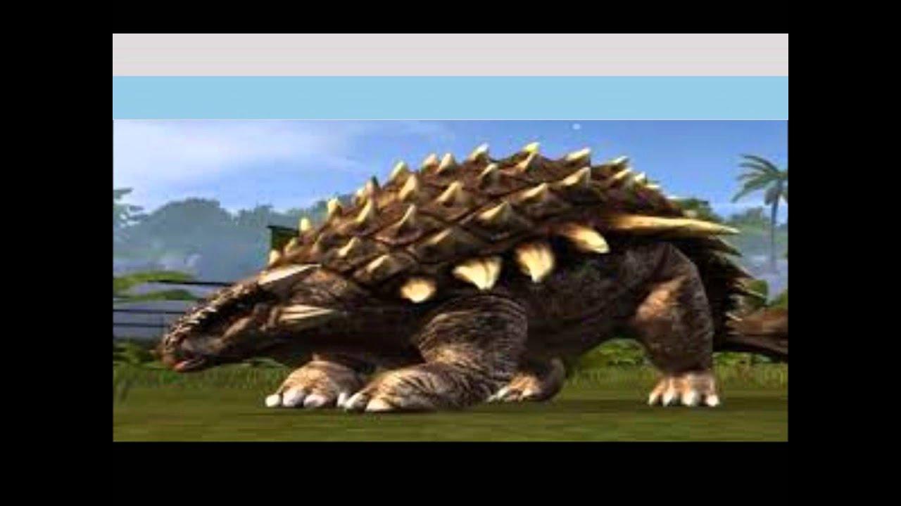 Ankylosaurus Vs. Euoplocephalus (Dino Battle #1) - YouTube