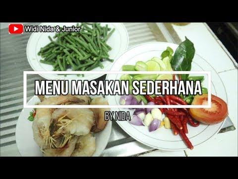 Masakan Sederhana - Olahan udang  Resep Udang Sayur Asem Aceh - YouTube