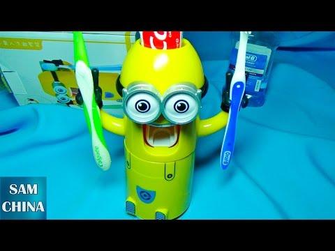 Дозатор зубной пасты в виде миньона с GearBest.com