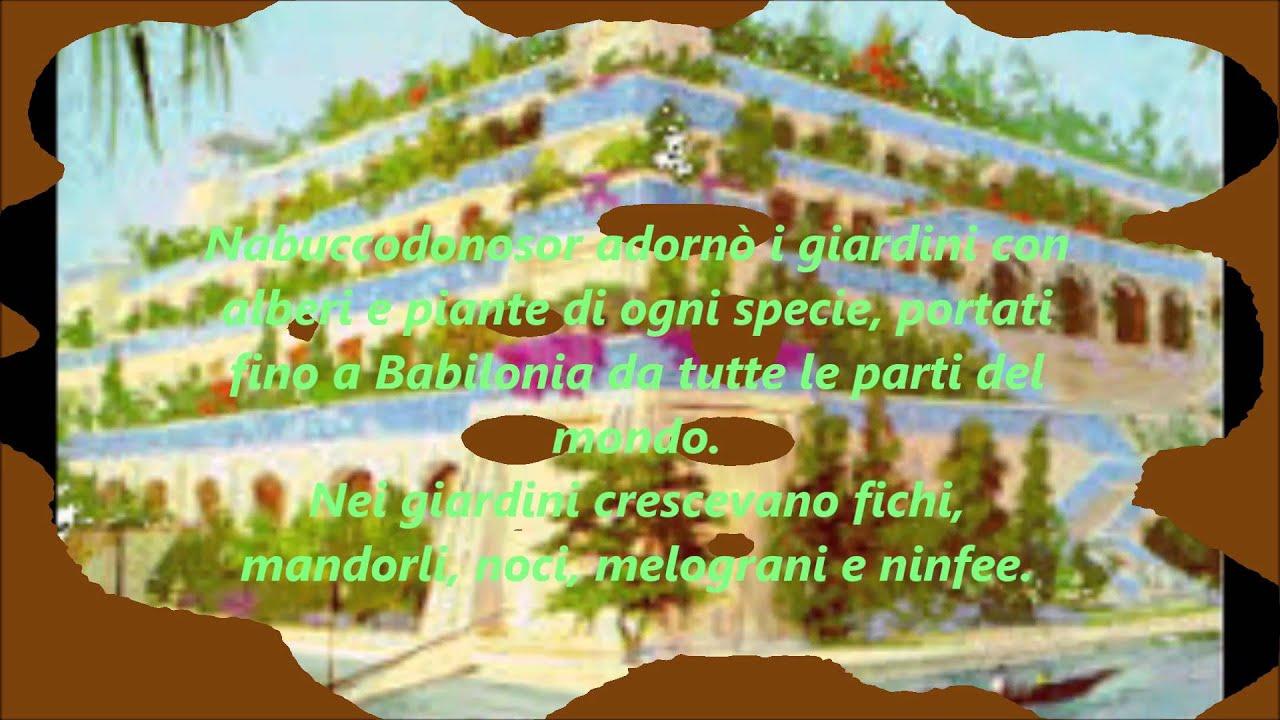 I giardini pensili di Babilonia Giusy Calcara Saveria Cassibba 1B ...