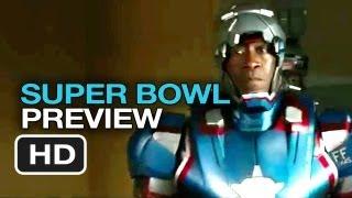 Iron Man 3 Official Super Bowl Preview (2013) - Robert Downey Jr. Movie HD