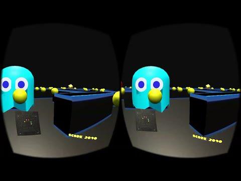 Pacman Vr  (:V) Jugando En Realidad Virtual