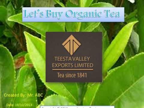 Let's Buy Organic Tea   Copy