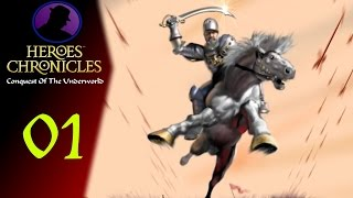 Let's Play Heroes Chronicles Conquest Of The Underworld - Ep. 1 - Knight Tarnum!