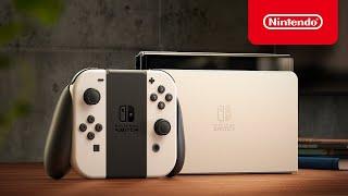 Nintendo Switch OLED 모델 첫 공개 영…