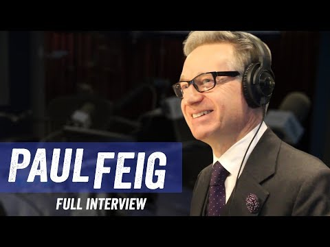 Paul Feig - 'The Joel McHale Show', Twitter, Script Writing - Jim Norton & Sam Roberts