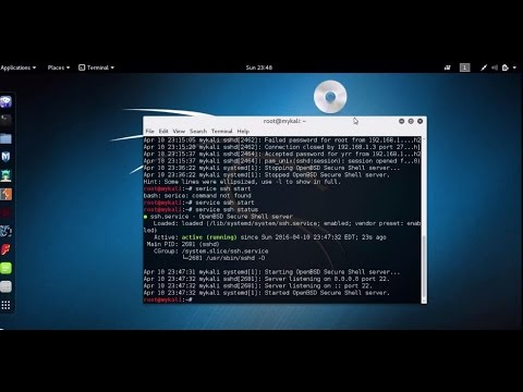 Install and configure SSH service in Linux