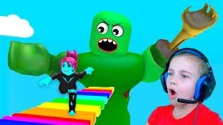 ЗОМБИ ЗАХВАТИЛИ БАССЕЙН в Roblox Побег от зомби в бассейне Видео для детей Роблокс