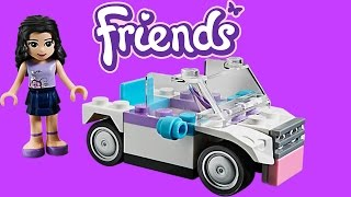 Lego Friends Emma's Car Toy Unboxing