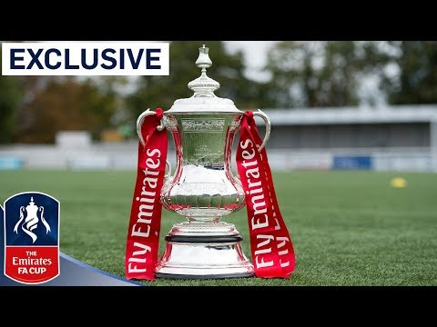 Brand new FA Cup being made