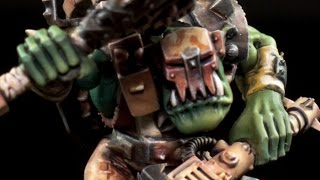 How to paint Blood Axes Ork Nob by Lester Bursley