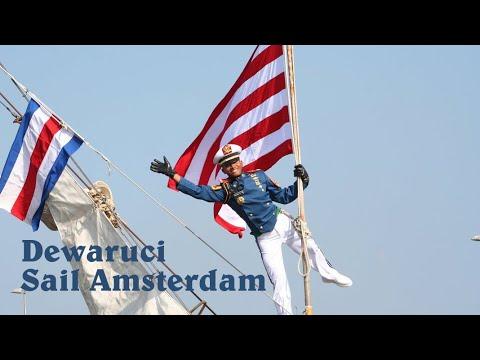 Dewaruci sail In Amsterdam 2010