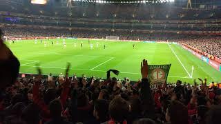 Arsenal Milan Ooooh AC Milan!!! Ooooh AC Milan!!! Curva Sud Milano Europa League 2018 Emirates
