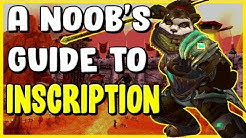 A Noobs Guide To Inscription In WoW BFA 8.3 - Gold Making, Gold Farming