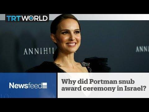 NewsFeed: Why did Portman snub award ceremony in Israel?
