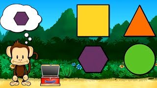 Monkey Preschool Lunchbox - Educational Kids Games