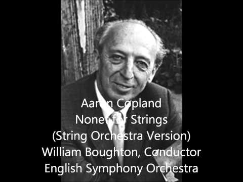 Aaron Copland — Nonet for Strings (String Orchestra Version)