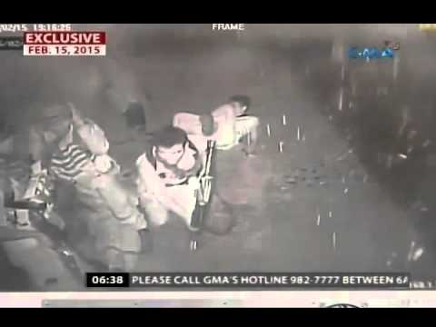 24 Oras  Pag atake ng NPA sa presinto sa Mati, Davao Oriental, na huli cam