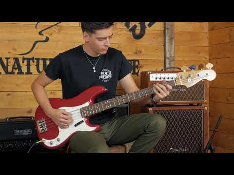 Fender Custom Shop Postmodern PJ Bass NOS Dakota Red