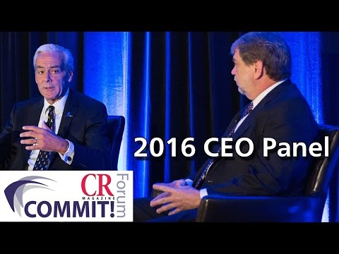 COMMIT!Forum 2016: Shared Responsibility - An Exclusive CEO Panel
