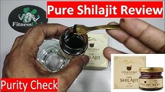 100% Pure   Upkarma Shilajit   Review   How To check Purity   Liquid Shilajit