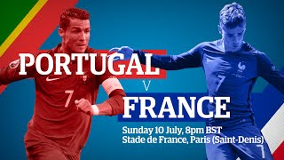 Euro 2016 final: which of France and Portugal will make history?