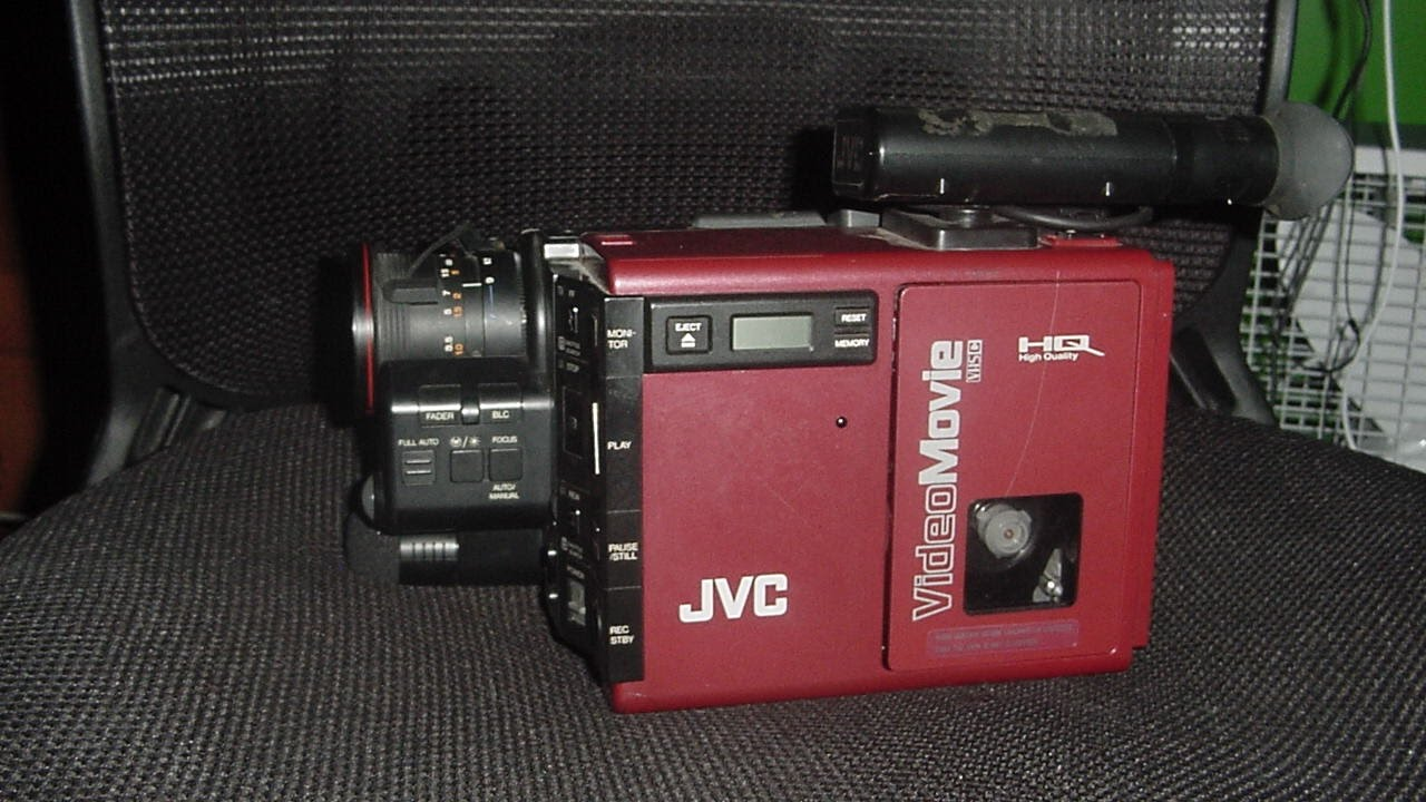 Thrift Store Score  Jvc Gr-c7 Vhs-c Camcorder