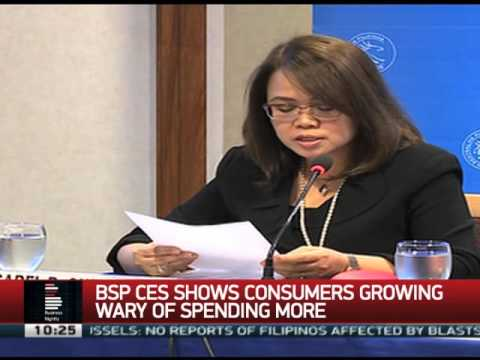 Survey shows consumers growing wary of spending money