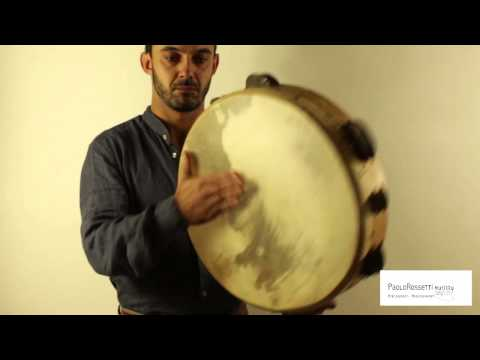 Frame Drums , TAMMORRA traditional Paolo Rossetti Murittu