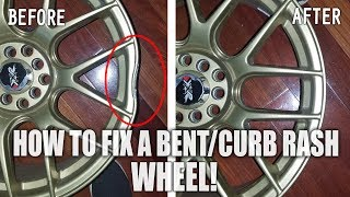 Bent Wheel? Curb Rash or Scratches..  How to Easily Repair your wheel!