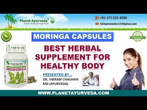 Moringa Oleifera, Drumstick Tree - Health Benefits of Moringa Capsules